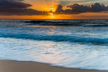 Ablaze with Light - Sunrise Seascape