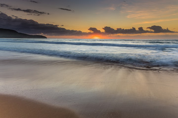 Sunrise Beach Seascape