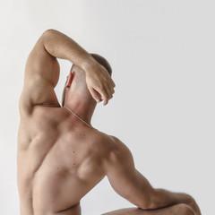 spine,body,art,man,sexy,minimal,white