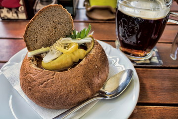 Prag, Biergulasch
