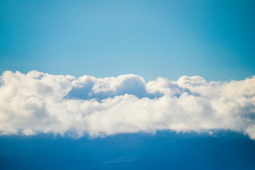 Blue image concept picture sky and clouds like pattern background for quiet and relax texture.