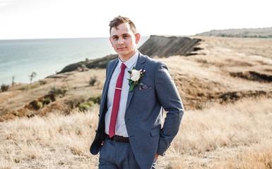 portraits of the groom