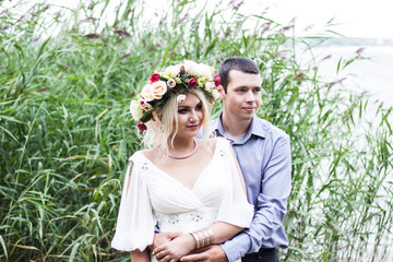 wedding photography by the lake