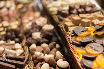 Traditional chocolate store