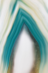 Teal abstract agate