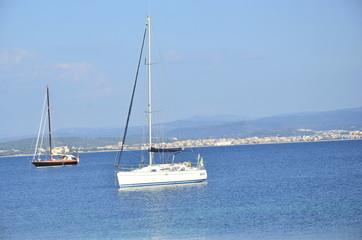 Küste bei Sardinien