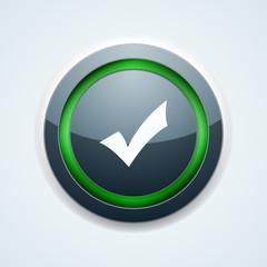 Checkmark button illustration