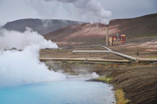 Bjarnarflag geothermal power plant, Iceland