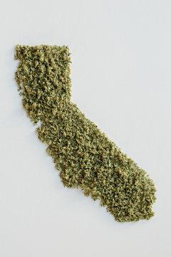 State of California made from marijuana