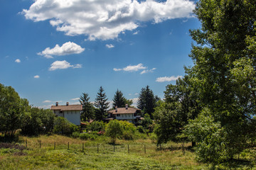 Landscape in Rhodopes
