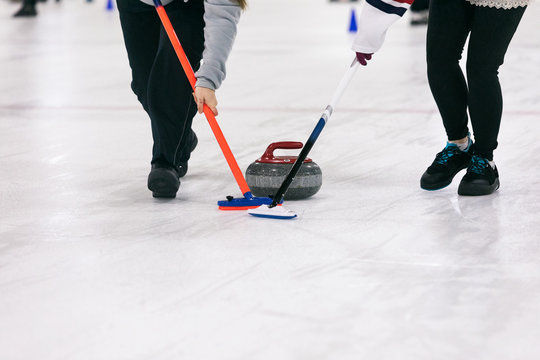 Curling: Players Sweep Ahead Of Stone