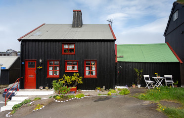 Tórshavn, the beautiful capital city of Faroe Islands