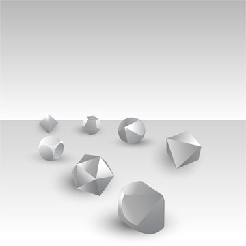 Set of DIY d20 dices, rpg game realistic template for web and print fantasy world sesion, geek culture supplies , gamemaster destiny check.