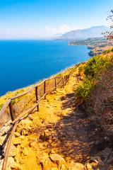 Trail in Zingaro nature reserve