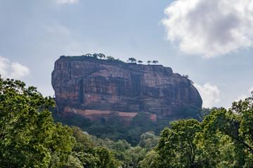 "UNESCO world heritage site ""fortress in the sky"". Sigiriya. Sri lanka."