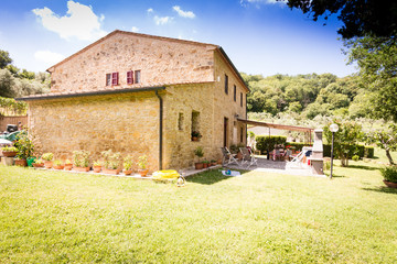Natursteinhaus in der Toskana