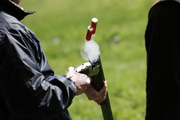 Sport Shooting with Shotgun