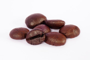 coffee bean on isolated