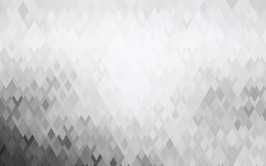 Light Gray vector abstract perspective background.