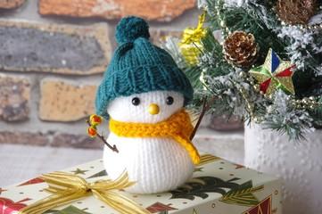 雪だるま スノーマン クリスマスイメージ