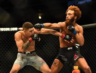 MMA: UFC Fight Night-Denver-Trizano vs Pena
