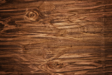 dark stained, distressed wooden floor board texture