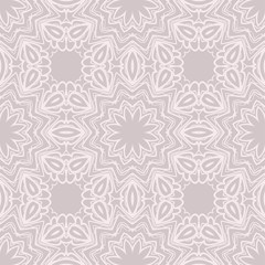 seamless lace floral background. Texture for wallpaper, invitation. Vector illustration.
