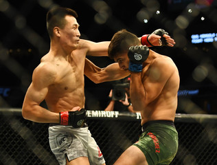 MMA: UFC Fight Night-Denver-Jung vs Rodriguez