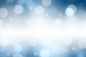 Blue blurred abstract for background