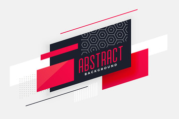 stylish geometric abstract design background