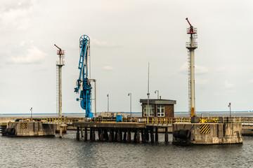 Gdynia port - oil terminal