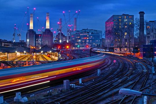 battersea power station london Long Exposures