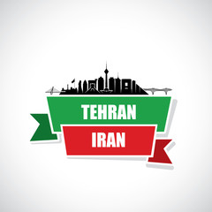 Tehran skyline - Iran