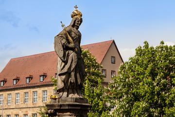 Statue der heiligen Kunigunde in Bamberg
