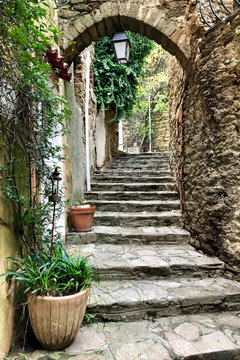 Treppe in Bormes Les Mimosas II