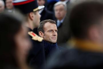 100th anniversary commemoration of the Armistice, in Paris
