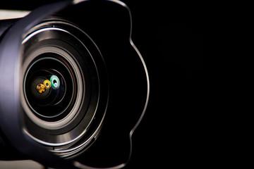 Lens for mirror less Digital Camera. Сlose-up