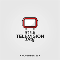 World Television Day Design