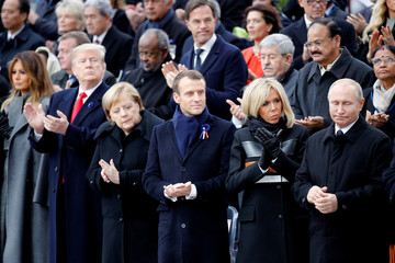 100th anniversary commemoration of the Armistice, in Paris