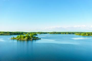 Insel im Schärengarten vor Stockholm
