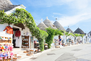 Alberobello, Apulia - Beautiful historical architecture called Trulli