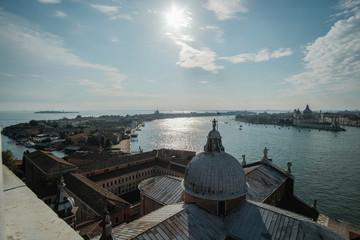 View of the Venice from San Giorgio Maggiore