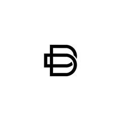 b letter vector logo