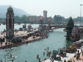 Obraz Haridwar holy Gates in India - fototapety do salonu