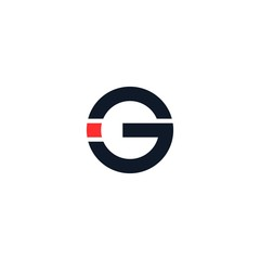 Letter G logo icon vector design template.