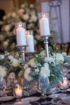 wedding flower florist white elegant luxury simple color