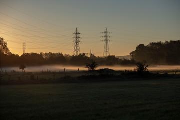 sunrise in Belgium