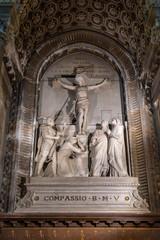 The Basilica of Notre Dame de Fourviere in Lyon