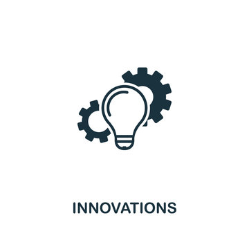 Innovations icon. Premium style design from startup icon collection. UI and UX. Pixel perfect Innovations icon for web design, apps, software, print usage.