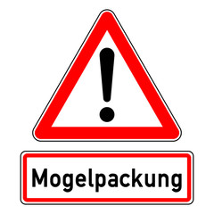 ncsc61 NewCombinationSignCaution ncsc - german text - Mogelpackung: g6761